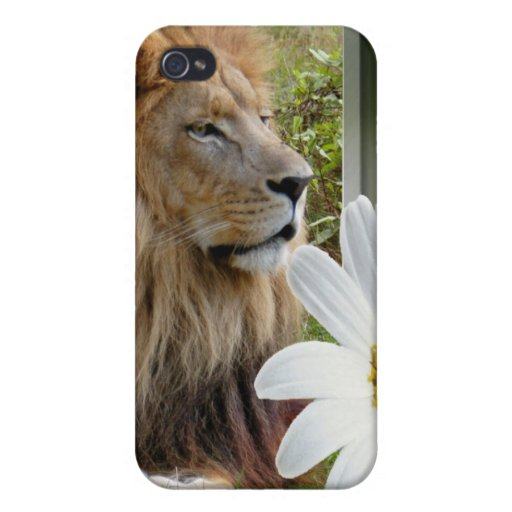 85 african-lion-st-patricks-0039 iPhone 4/4S carcasas