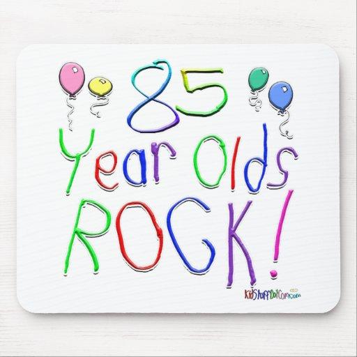 ¡85 años de la roca! alfombrilla de raton
