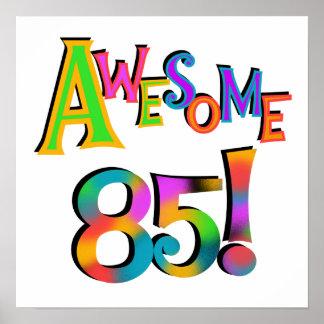 85 camisetas y regalos impresionantes del cumpleañ póster