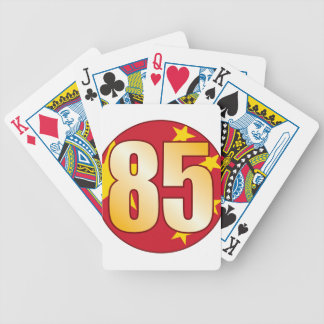 85 CHINA Gold Bicycle Playing Cards