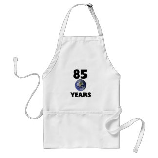85 earth years adult apron