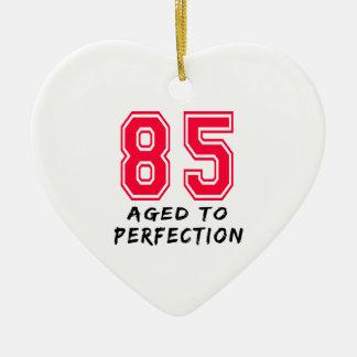 85 envejeció al diseño del cumpleaños de la perfec adornos de navidad
