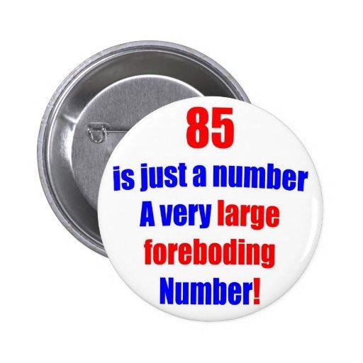 85 es apenas un número pin