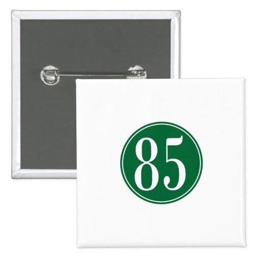 #85 Green Circle Pins