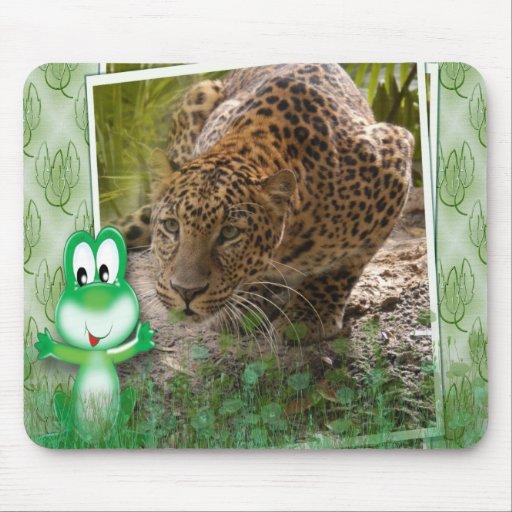 85 leopard-st-patricks-0032 mousepad