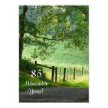 85 Memorable Years/Birthday Celebration-Male 5x7 Paper Invitation Card