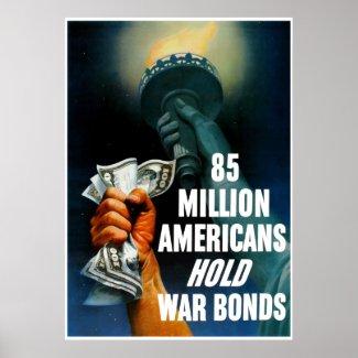 85 Million Americans Hold War Bonds -- Border print