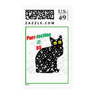 85 Snow Cat Purr-fection Stamp