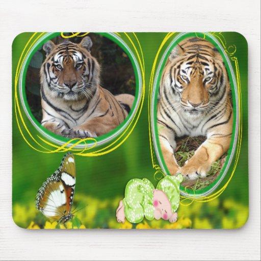 85 tigers-st-patricks-0087 tapete de ratón