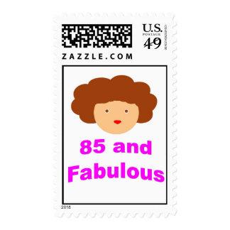 85 y fabuloso estampillas