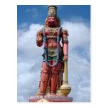 85ft Hanuman Statue, Carapichaima, Trinidad Postcard