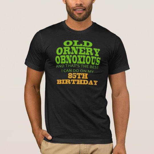 85o Camisetas y regalos del cumpleaños