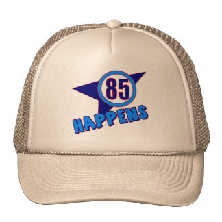 85o El cumpleaños sucede los regalos Gorros Bordados