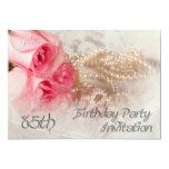 85o Invitación de la fiesta de cumpleaños Invitación 12,7 X 17,8 Cm