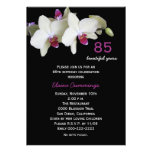 85o Invitación de la fiesta de cumpleaños -- Orquí