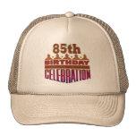 85o Regalos de la celebración del cumpleaños Gorra
