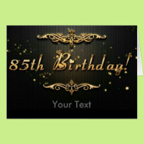 85th Birthday! Card
