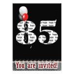 85th Birthday Party Invitation