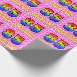 [ Thumbnail: 85th Birthday: Pink Stripes & Hearts, Rainbow # 85 ]