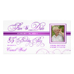85th Birthday - Save the Date Photo Announcement