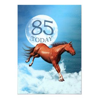 85th birthday Spirit horse party invitation