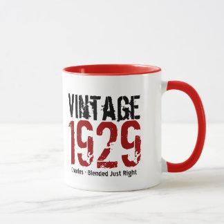 85th Birthday Vintage 1929 or Any Year V01D Mug