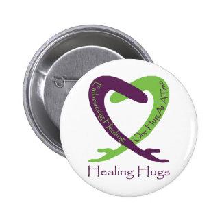 8621_Healing_Hugs_logo_8.31.11_test-2 2 Inch Round Button