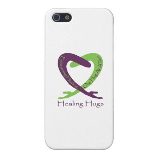 8621_Healing_Hugs_logo_8.31.11_test-2 Cover For iPhone SE/5/5s