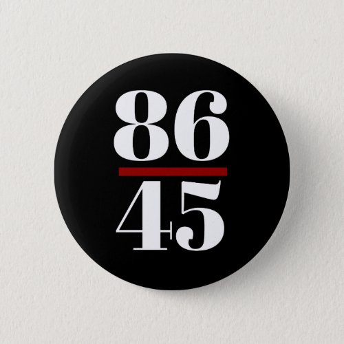 8645 Anti Trump Button