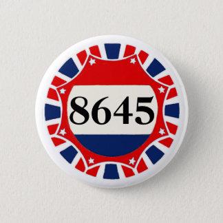 8645 -- Anti-Trump Pinback Button