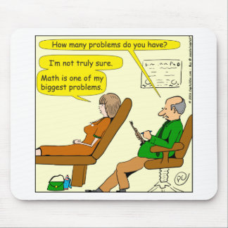 865 how many problems do you have - CARTOON Mouse Pad