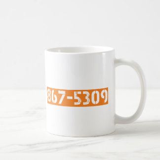 867-5309 COFFEE MUG