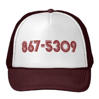 867-5309 GORRAS DE CAMIONERO