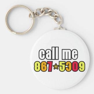 867-5309 KEYCHAIN