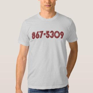 867-5309 TEE SHIRT
