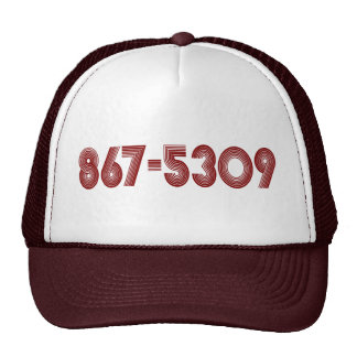 867-5309 TRUCKER HAT