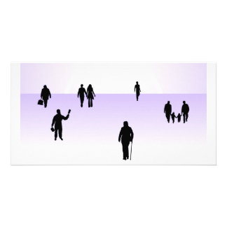 867 PEOPLE VECTOR SHAPES RELATIONSHIPS BUSINESS CO CUSTOMIZED PHOTO CARD