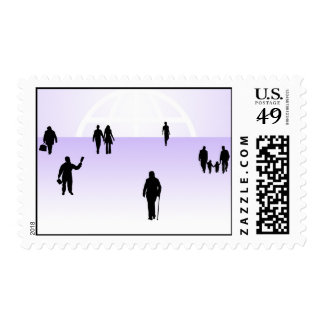 867 PEOPLE VECTOR SHAPES RELATIONSHIPS BUSINESS CO POSTAGE