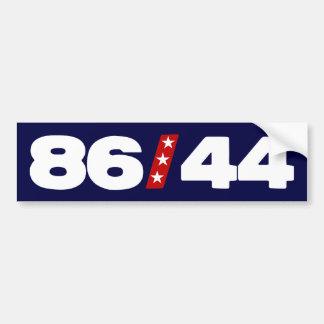 86 44 - Barack Obama anti Etiqueta De Parachoque
