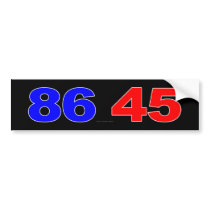 86 45 BUMPER STICKER