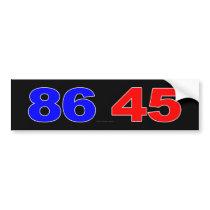86 45 BUMPER STICKER
