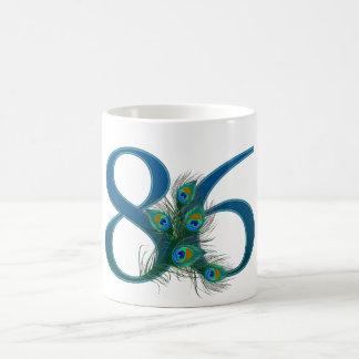 86 / 86th birthday number coffee mug