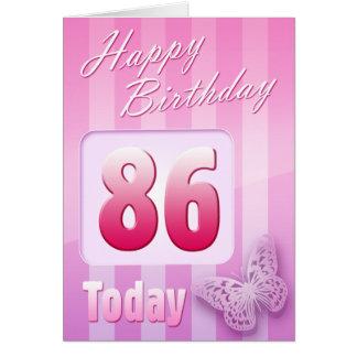 86.a Grande-Tía feliz Mum de la abuela del cumplea Felicitaciones