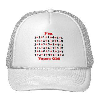 86 años del rojo del negro gorras