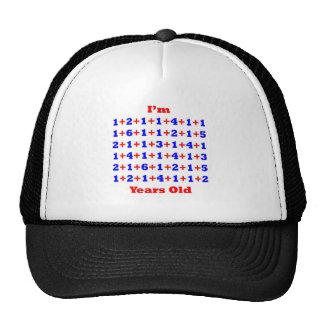 ¡86 años! gorras de camionero