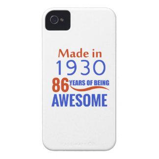 86 birthday design iPhone 4 cover