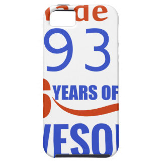 86 birthday design iPhone SE/5/5s case