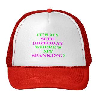 ¿86 donde está mi azote? gorra