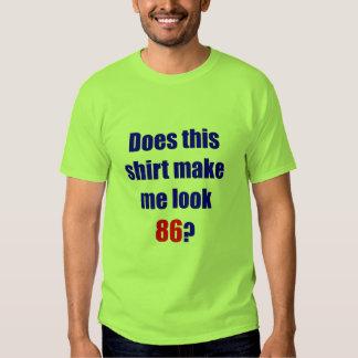 86 hace esta camisa