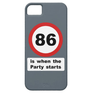 86 is when the Party Starts iPhone SE/5/5s Case